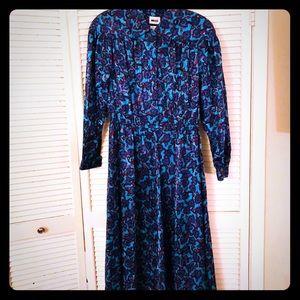 👗NEW👗EUC STUNNING boho paisley vintage dress